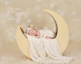 Newborn Photo Props - Newborn Photo Prop - Photography Prop - Baby Photo Prop - Newborn romper Outfit - newborn girl romper crochet