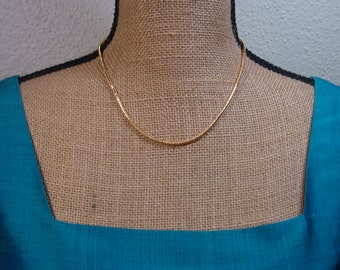 Quality 14 Karat Gold Filled Snake Chain Necklace