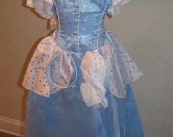 New Cinderella Inspired Costume Birthday girl toddler princess dress size 6