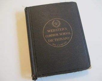Webster's Common School Dictionary, 1892