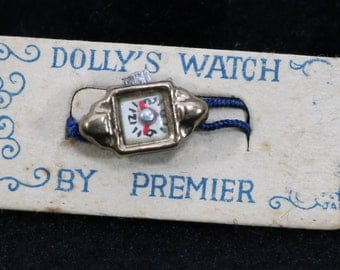 Vintage Doll Jewelry Watch | Dolly's Watch | By Premier