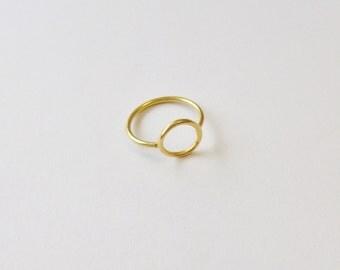 Small Circle Ring