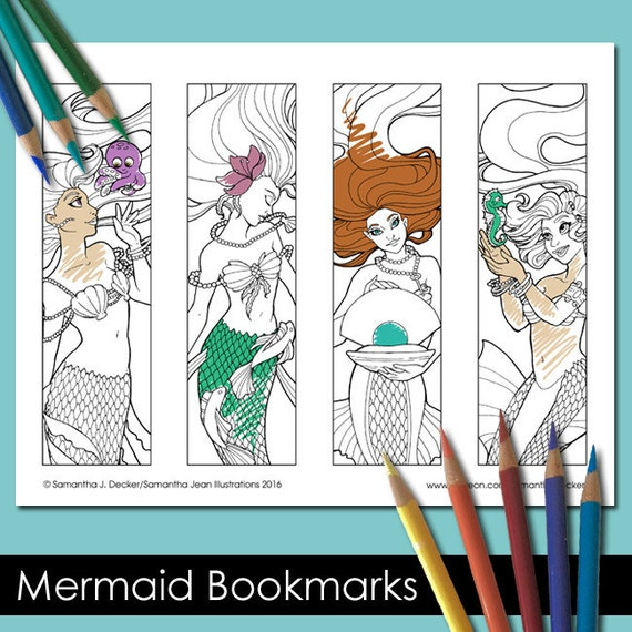 Coloring Bookmarks Printable Bookmarks