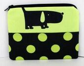 Hound Dog, Small Zipper Pouch, Coin Purse