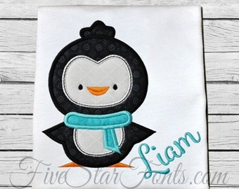 Cute Penguin Applique