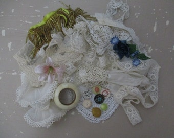 Vintage Lace and Trims Shabby Chic