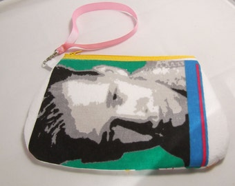 New Kids on the Block Wristlet / Pouch -- Handmade NKOTB....   Donnie