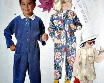 McCall's 2888 - Children's Jumpsuit - Size 2-3-4