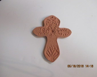 Red Clay Decorative Cross