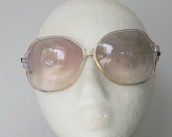 Vintage 1970s Oversized Sunglass Frames