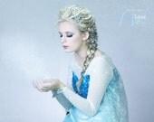 Elsa Costume for Adults, Custom Elsa dress , Elsa Snow Queen, Elsa Cosplay, Elsa Disney Princess dress, Halloween Costume