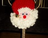 Santa Christmas Tree Ornament