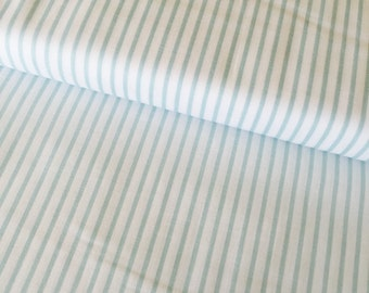 Wonderland fabric from Melissa Mortenson and Riley Blake fabrics, Stripes in Blue, You Choose Cut