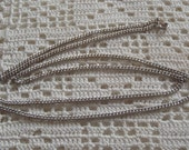 """Vintage Necklace Sterling Silver Chain 24"""""""