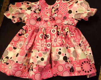 Boutique OOAK Minnie Mouse Dress