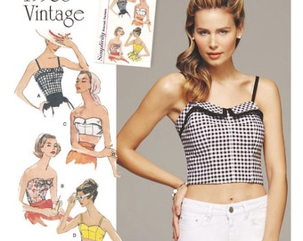 crop top pattern – Etsy