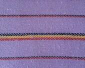 Ethnic Mexican Jerga Fabric Purple