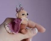 Backett - artist miniature mini micro bear by TSminibears