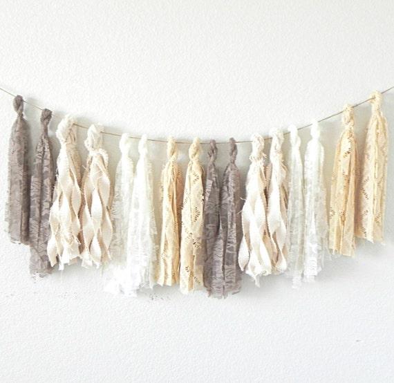 Textured Tassel Garland