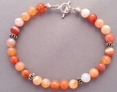 Carnelian with Sterling S...