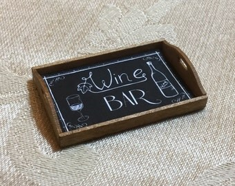 Wine & Friends Theme Tray