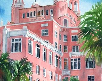 Don Cesar HotelCourtyard St Petersburg Florida