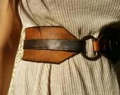 Wide belt Brown womens belt Wide waist belt,dress belt,wide leather belt.brown belt,wrap belt. Leather belt, Steampunk Belt
