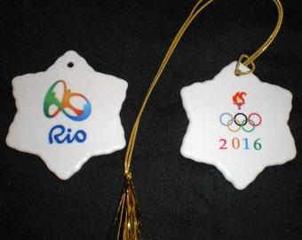 Awesome Rio Olympics 2016 Ornament / souvenir/ necklace/ pendant