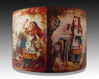 Alice in Wonderland polymer clay cuff