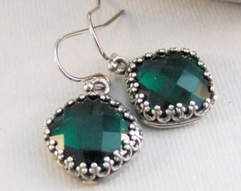 Emerald Green,Emerald Earring,Emerald Jewelry,Everald Swarovski,Green Earring,Green Jewelry,Green Stone,May Birthstone,Swarovski Earrings