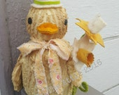 Primitive Duckling ~~ Easter ~~ Spring ~~ Primitive Home Decor ~~ FAAP ~~ OFG Team ~~ HDM ~~ Spring Equinox