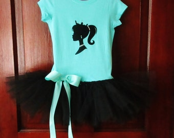 Barbie Tutu Dress Barbie Tutu Barbie Dress Ready To Ship Size 2T