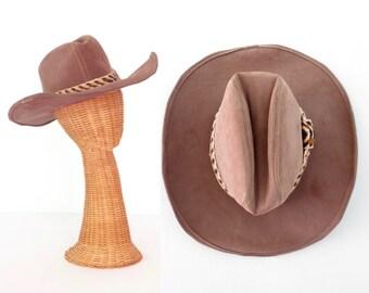 Vintage Western Hat * Cowboy Hat * Cattleman Hat