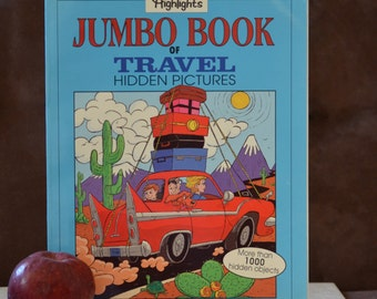 Highlights Jumbo Book of Travel Hidden Pictures selected by Jody Taylor/ ISBN 1563974517 First Edition 1996
