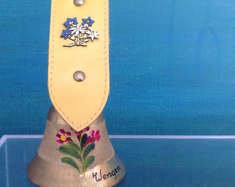 Vintage Swiss -Cowbell.Made in Switzerland (WENGEN )