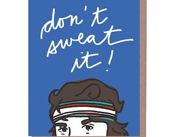 Sweatband Card