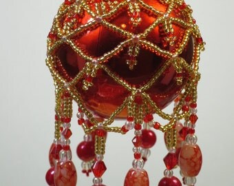 88. Beaded Ornament Cover