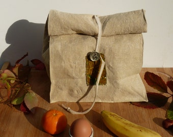 Autumn lunch bag