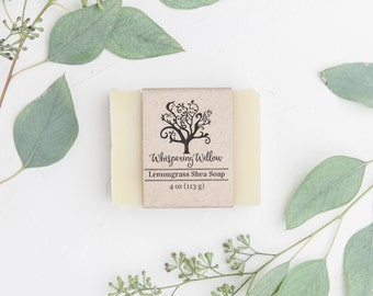 Lemongrass Shea All Natural Handcrafted Soap