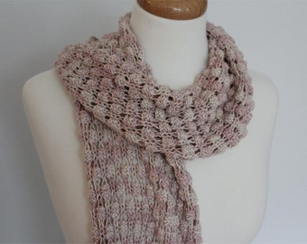 KNITTING Pattern- Breezy Scarf PDF knitting pattern