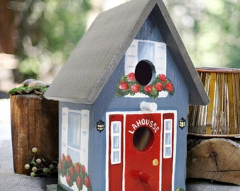 Decorative Birdhouse Painted to Match Your Home