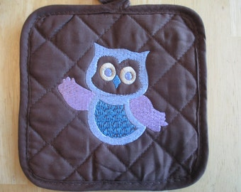 Owl Pot Holders w/FREE Shipping