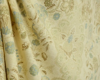Assam 166 Floral Linen Covington Fabric