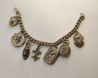 Charm Bracelet Vintage Bracelet