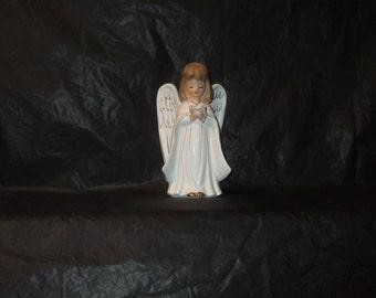 Vintage Japan UCAGCO Tall GORGEOUS Praying Choir Angel Figurine