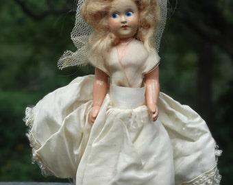 Vintage Little darling doll.