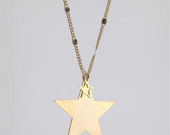 Star necklace, urban jewelry, necklace, jewelry, urban, fashion