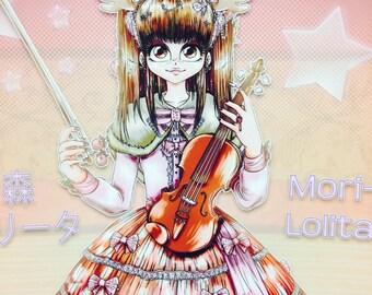 SERIES 1 - Lolita Fashion - Mori Girl - Poster Print