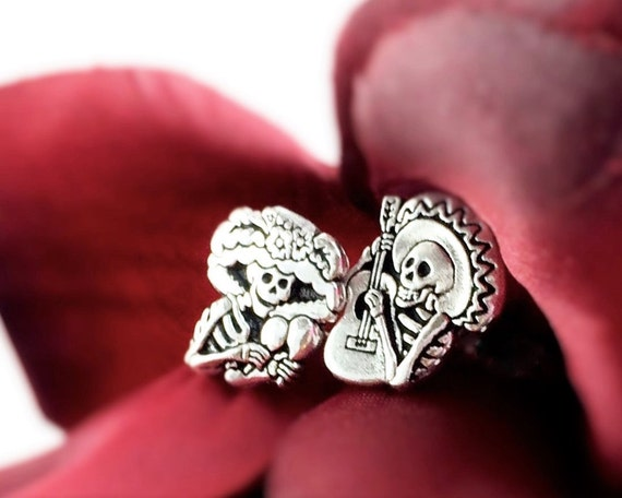 Day of the Dead Earring Studs