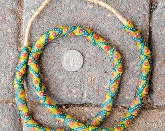 Krobo Beads: 11x16mm